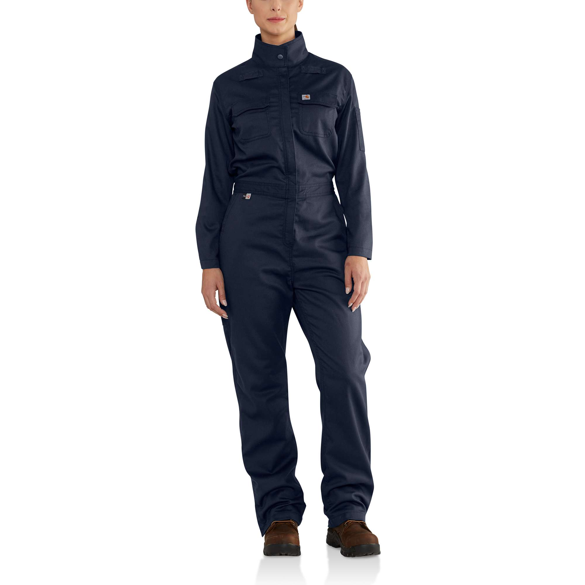 Carhartt - Womens Flame-Resistant Womens Rugged Flex Twill Coverall-Carhartt