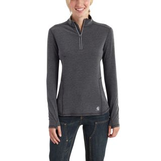 Womens Force Ferndale Quarter Zip Shirt-Carhartt