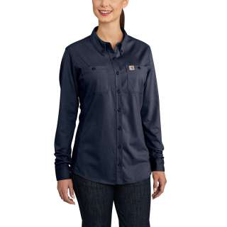 Womens Flame-Resistant Womens Force Cotton Hybrid Shirt-Carhartt