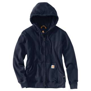 Womens FRHeavyweight Hooded Zip Front Sweatshirt-Carhartt