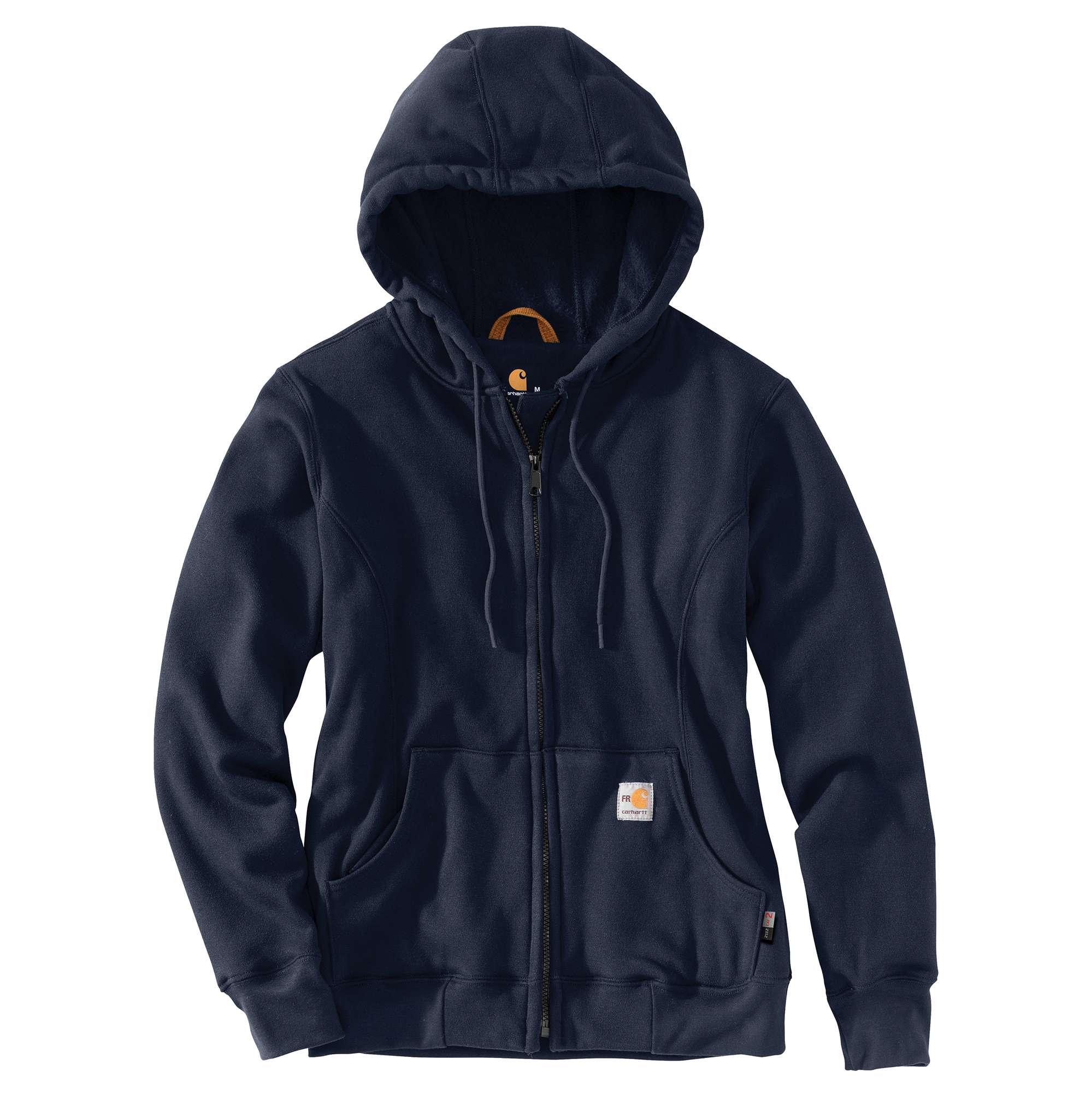 Carhartt Ladies FR HW Hooded Zip Front Sweatshirt-Carhartt