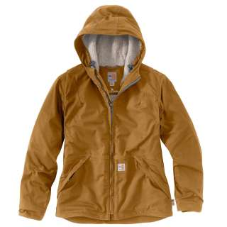 Womens Flame-Resistant Womens Full Swing Quick Duck Jacket-Carhartt