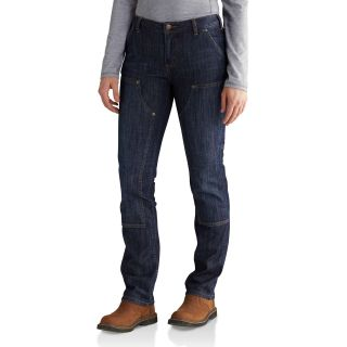 Womens Slim Fit Layton Double Front Str Leg Jean-Carhartt