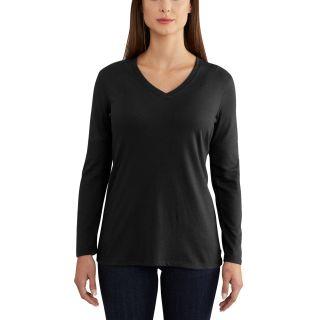 Womens Lockhart Long Sleeve Vneck Tshirt-