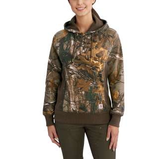 Womens Avondale Camo Pullover Sweatshirt