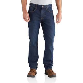 Mens Rugged Flex Relaxed Straight Jean-