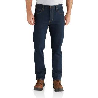 Mens Rugged Flex Straight Tapered Jean-