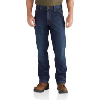 Mens Rugged Flex Relaxed Dungaree Jean-