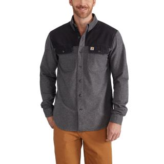 Mens Burleson Heather Shirt-Carhartt