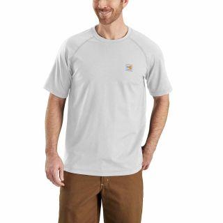 Mens Flame-Resistant Force Short Sleeve T Shirt-Carhartt