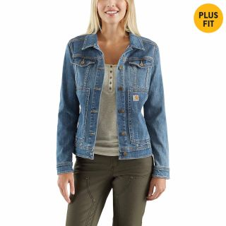 Womens Benson Denim Jacket-Carhartt