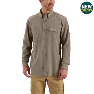 Mens Force Extremes Angler Long Sleeve Shirt-Carhartt