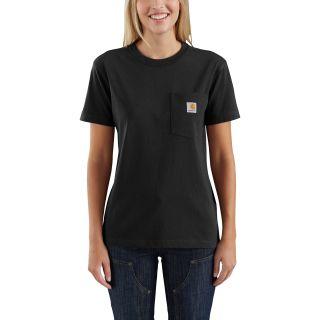 Womens LseFitHeavyweight Short Sleeve Pocket Tshrt-Carhartt