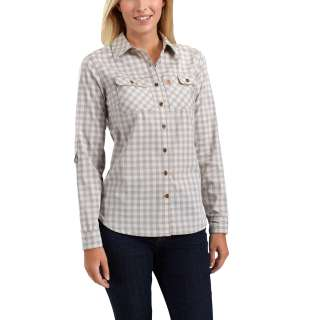 Womens Force Ridgefield Plaid Shirt-Carhartt
