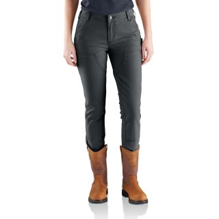 Womens Slim Fit Crawford Double Front Pant-