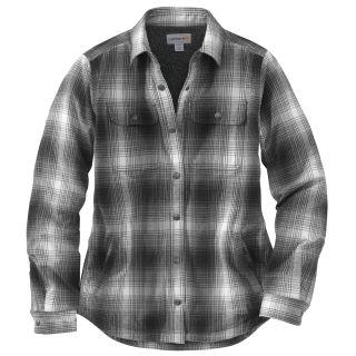 Womens Hubbard Sherpa Lined Shirt Jac-Carhartt