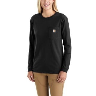 Womens Wk126 Workwear Pocket Long Sleeve Tshirt-Carhartt