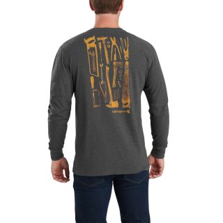 Mens Maddock Tool Graphic Pocket Long Sleeve Tshirt-