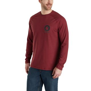 Mens Force Cotton Delmont Long Sleeve Gphc T Shirt