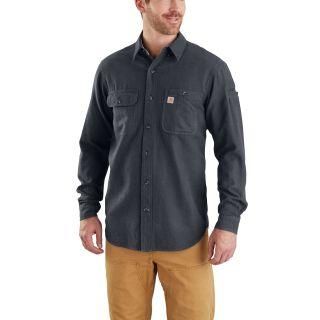 Mens Beartooth Solid Long Sleeve Shirt-Carhartt