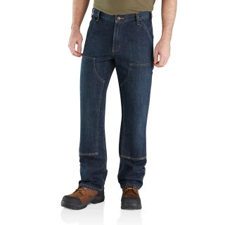Mens Relaxed Fit Holter Double Front Dungaree-