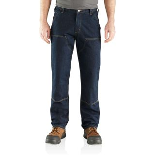 Mens RF RlxdFit Double Front Utly Jean-