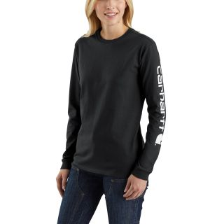 Womens WK231 Workwear Slv Logo Long Sleeve TShirt-