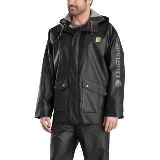 Mens Midweight Waterproof Rain Storm Coat-