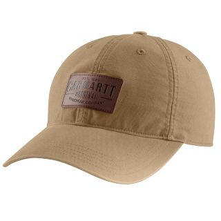 Mens Rigby Strtch Fit Leatherette Patch Cap-Carhartt