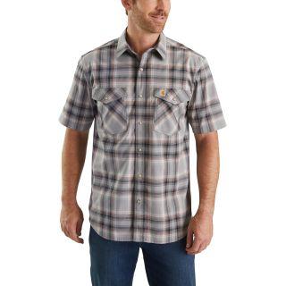 Mens Rugged Flex Bozeman Short Sleeve Shirt-