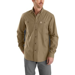 Mens Rugged Flex Rigby Long Sleeve Work Shirt-Carhartt