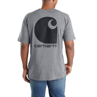 Mens Workwear C Logo Gphc Pocket Short Sleeve TShirt-