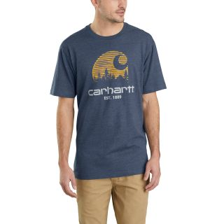 Mens Maddock Mountain C Gphc Short Sleeve TShirt-