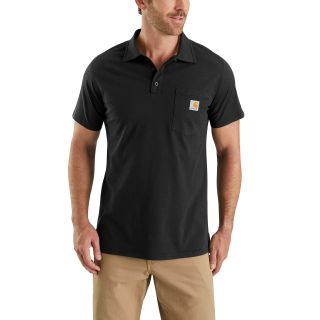 Mens Force Cotton Delmont Pocket Polo