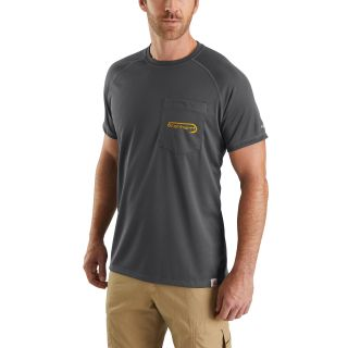 Mens Force Fishing Gphc Short Sleeve T Shirt-Carhartt