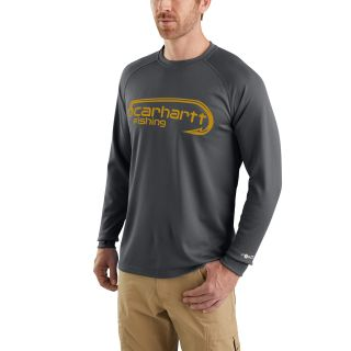 Mens Force Fishing Gphc Long Sleeve T Shirt-Carhartt