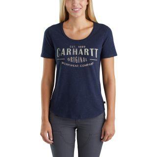 Womens Lockhart Grphc Crhrtt Wrkwear Short Sleeve Tshrt-Carhartt