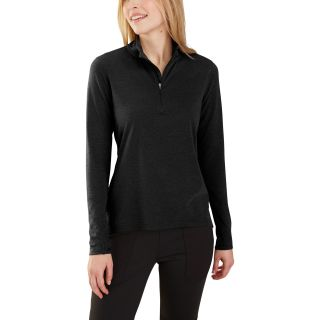 Womens Force Delmont Quarter Zip Shirt-Carhartt