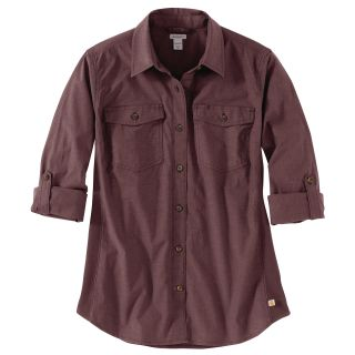 Womens Rugged Flex Bozeman Shirt