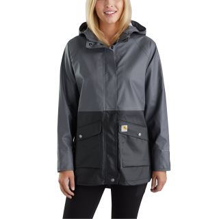 Womens Waterproof Rainstorm Coat-