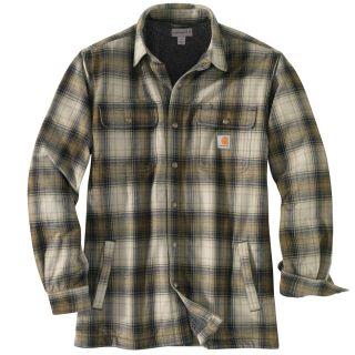 Mens Hubbard Sherpa lined Shirt Jac