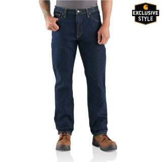 Mens RF Relaxed Fit Utility Five Pocket Jean
