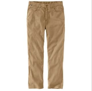 Mens Flame-Resistant RF Rlxd Ft Canvas 5Pkt Pnt-Carhartt