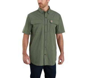 Mens Force RlxdFit LW Short Sleeve Shrt-Carhartt