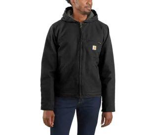 Mens RlxdFit WshDck Sherpa Lined Jacket-