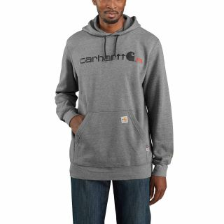 Mens Flame-Resistant Force Org Fit Midweight Hdd Sweatshirtt-Carhartt