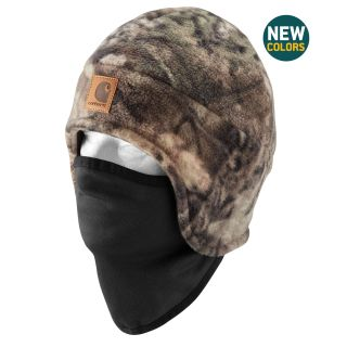 Mens Camo Fleece 2 in 1 Headwear-Carhartt