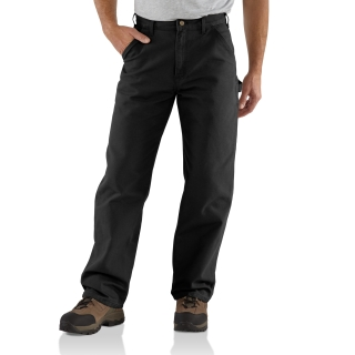 Mens Washed Duck Work Dungaree-