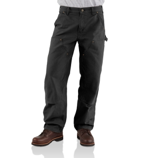 Mens Washed Duck Double Front Work Dungaree-