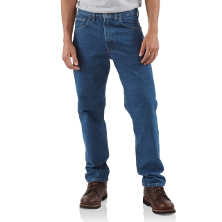 Mens Straight Trd Fit Tapered Leg Jean-